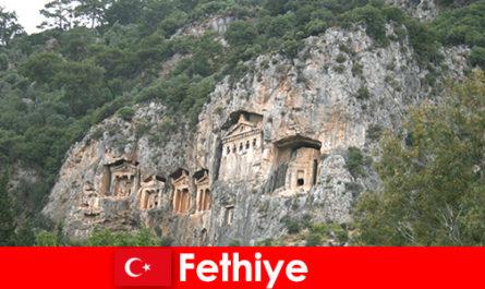 Πόλη Fethiye στη νοτιοδυτική Τουρκία