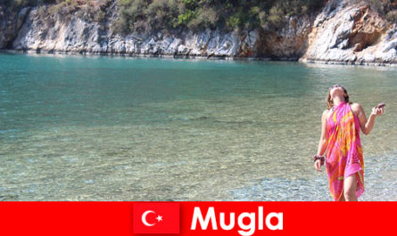 Διακοπές σε παραλία στη Μούγκλα, μια από τις μικρότερες επαρχιακές πρωτεύουσες της Τουρκίας