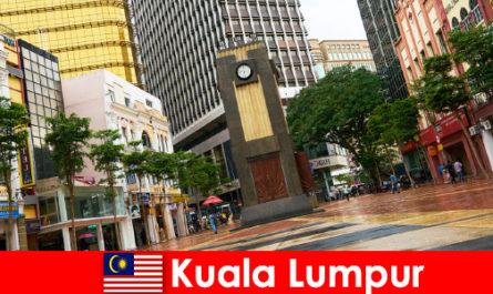 Πολιτιστικό και οικονομικό κέντρο της Κουάλα Λουμπούρ της μεγαλύτερης μητροπολιτικής περιοχής της Μαλαισίας