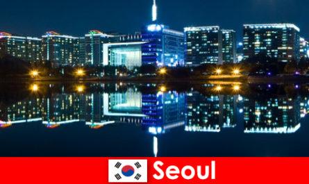 Σεούλ στη Νότια Κορέα είναι μια συναρπαστική πόλη που δείχνει την παράδοση με νεωτερικότητα