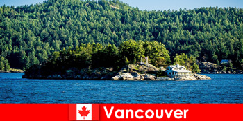 Για τους ξένους τουρίστες ξεκουραστείτε και βυθιστείτε στο όμορφο φυσικό τοπίο του Βανκούβερ στον Καναδά