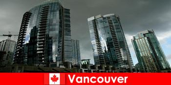Βανκούβερ στον Καναδά είναι πάντα ένας προορισμός για εντυπωσιακά κτίρια για αγνώστους