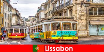 Ιστορικοί δρόμοι της Λισαβόνας Πορτογαλία με μια νότα νοσταλγίας για τους πολιτιστικούς ταξιδιώτες