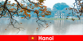 Ανόι Βιετνάμ Jade ορεινό ναό και λογοτεχνία ναό ευχαριστούν τους τουρίστες