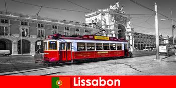 Λισαβόνα στην Πορτογαλία τουρίστες σας γνωρίζουν ως τη λευκή πόλη στον Ατλαντικό Ωκεανό
