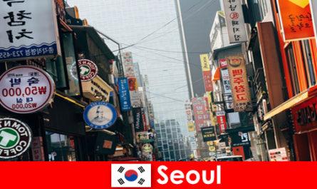 Σεούλ στην Κορέα η συναρπαστική πόλη των φώτων και της διαφήμισης για τους τουρίστες νύχτας