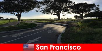 Διερευνητική περιήγηση για αλλοδαπούς με ποδήλατο στις Ηνωμένες Πολιτείες του Σαν Φρανσίσκο