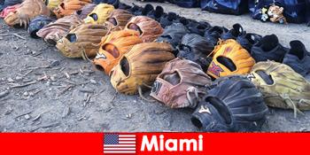 Ονειρεμένες διακοπές για τους ταξιδιώτες στα αθλητικά πάρκα του Μαϊάμι Ηνωμένες Πολιτείες
