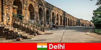 Ιδιωτικές ξεναγήσεις στην πόλη του Δελχί της Ινδίας για ενδιαφερόμενους παραθεριστές πολιτισμού