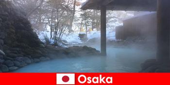 Η Οσάκα Japan προσφέρει στους επισκέπτες του σπα που κολυμπούν σε ιαματικές πηγές