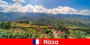 Με τρένο μέσα από τα χωριά και τα βουνά στην ενδοχώρα της Νίκαιας της Γαλλίας
