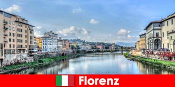 Φλωρεντία Ιταλία μάρκες πόλη για πολλούς ξένους