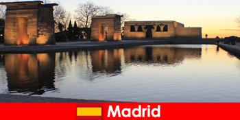 Δημοφιλής προορισμός για εκδρομές στη Μαδρίτη της Ισπανίας για Ευρωπαίους φοιτητές