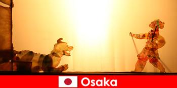 Η Οσάκα ιαπωνίας μεταφέρει τουρίστες από όλο τον κόσμο σε ένα κωμικό ταξίδι ψυχαγωγίας