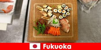 Fukuoka Ιαπωνία είναι ένας δημοφιλής προορισμός για τους ταξιδιώτες μαγειρικής