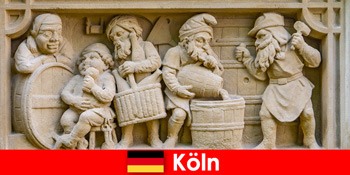 Τέχνη ζυθοποιίας με τοπική κουζίνα στην Κολωνία της Γερμανίας για ευρωπαίους εβδομαδιαίους επισκέπτες